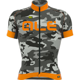 Alé Cycling Graphics PRR Camo SS Jersey Men black-fluo orange